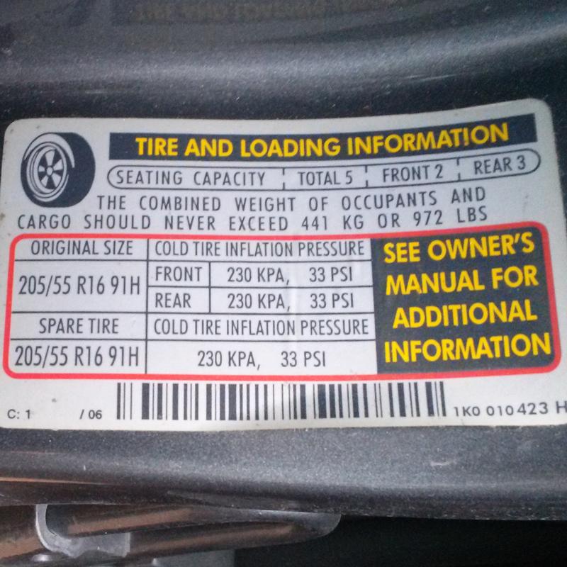 Psi Tire Pressure >> Checking Tire Pressure Atlantic Tire Service