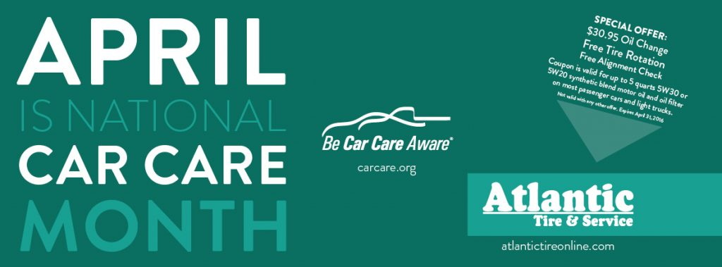 April is Car Care Month!