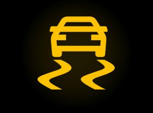 Traction Control Warning Symbol