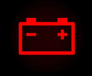 Battery Alert Warning Symbol