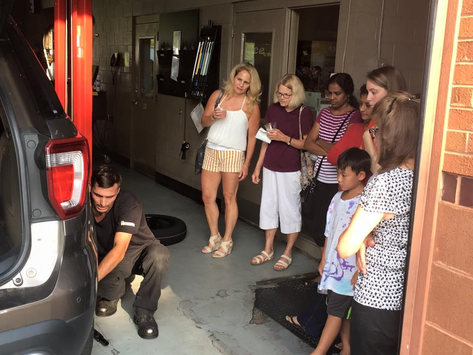 atlantic tire ladies car care clinic demonstration