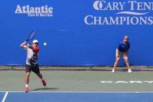 2015 Cary Tennis Championships match photo