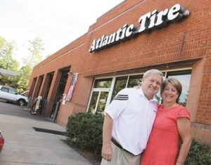 Atlantic Tire's Anthony and Beth Blackman have given their time -- and hearts -- to projects in and around Cary, N.C.